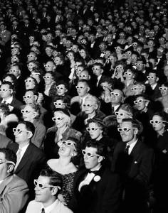 3D Movie Audience
